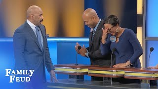 Ladies, WHICH ANIMAL is your HUSBAND in BED? | Family Feud