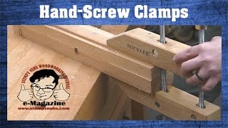 Why do woodworkers still love wooden hand-screw clamps? (And how to use them!)