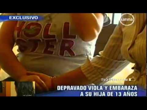 Hombre enfermo violó y embarazo a su hija de 13 años