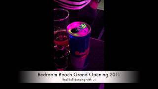 Red Bull dancing with us @ BEDROOM Beach 2011 Grand Opening