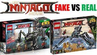 LEGO Ninjago Movie FAKE Sets VS REAL Sets!