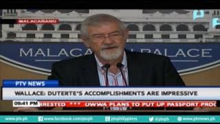 Wallace: President Rodrigo Duterte's accomplishments are impressive