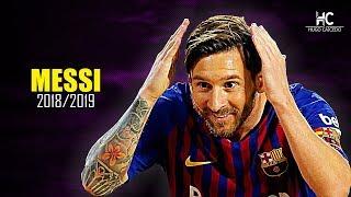 Lionel Messi ● Jugadas Mágicas, Pases Y Goles ● 2018/19 HD
