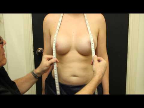 measure the distance from your collarbone and clavicle to your nipples