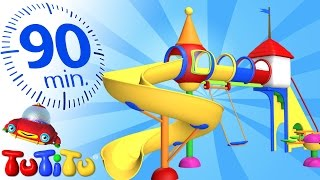 TuTiTu Specials | Playground | And Other Popular Toys for Children | 90 Minutes!
