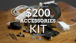 Filmmaking Accessories Kit for $200