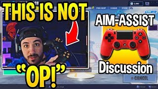 "NICKMERCS *GOES OFF* on PRO PC PLAYERS Who Say ""AIM-ASSIST is OP"" (FULL DISCUSSION)"