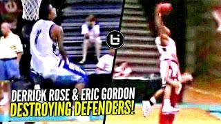 Derrick Rose & Eric Gordon Would SHUT THE INTERNET DOWN Today! NASTIEST HS Backcourt Duo!