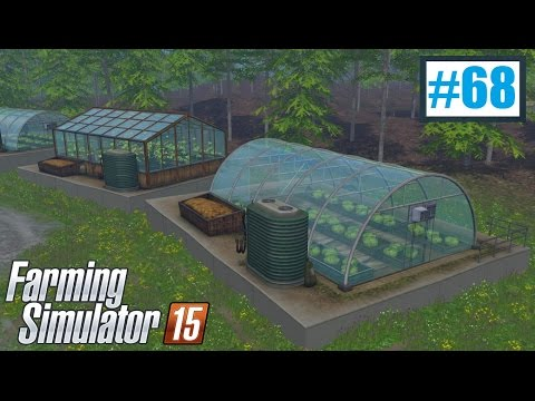 Szklarnie (Farming Simulator 15 #68), gameplay pl