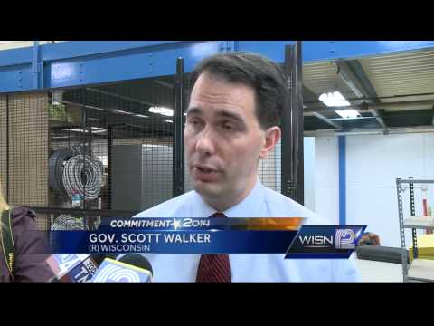 Walker, Burke visit  WISN 12 Studios for special edition of 'UPRONT'