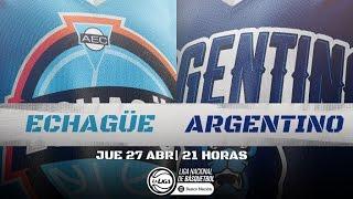 Liga Nacional: Echague vs. Argentino | #LaLigaEnTyC