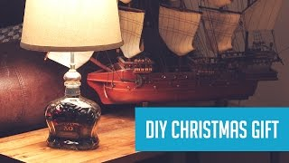 DIY Lamp from a Whisky Bottle