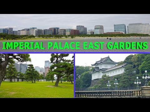 Imperial Palace East Gardens, Tokyo - Japan 2016 4K