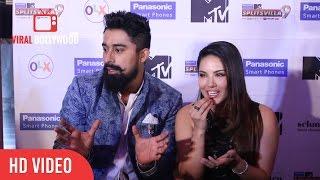 Sunny Leone and Ranvijay Singh full interview | MTV Splitsvilla 9 Season