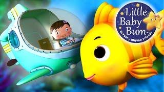 A Sailor Went To Sea   Nursery Rhymes   by LittleBabyBum!