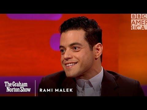 Rami Malek was a bad bad boy The Graham Norton Show BBC America