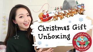 【Vicky】收到一个神秘礼物...🎄Secret Santa🎄 |7位北美YouTuber 匿名礼物互换大行动