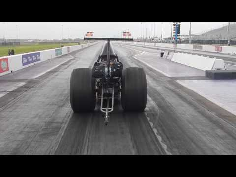 Racing against a diesel Dragster in a crosswind