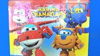 Harika Kanatlar puzzle yapıyoruz Harika Kanatlar çizgi filmi karakterleri yapboz ve kutu açılımı