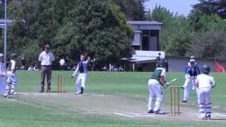 School Cricket Action - u'11 Mpumalanga Final '14