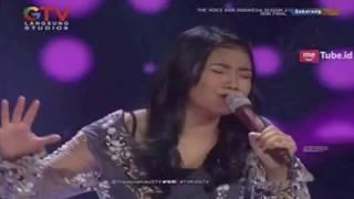 Anggis - Pergilah kasih (Chrisye cover) enak didengar -The Voice Kid's Ind(2017)