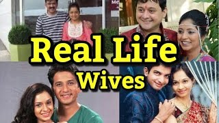 Marathi Stars With Real Life Wife