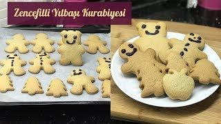 Zencefilli Kurabiye (Gingerbread | Yılbaşı Kurabiyesi) - Naciye Kesici - Yemek Tarifleri