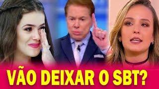 Silvio Santos TOMA Atitude e Abre Mão de Larissa Manoela e Maísa e choca a todos