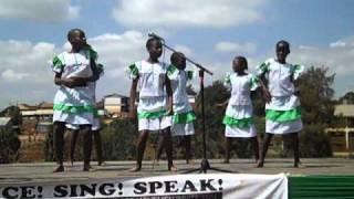 Traditional Dance - Red Rose LitWorld Girls Club / Children of Kibera Music Festival 2010