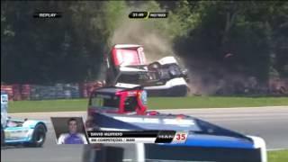 Fórmula Truck 2016. Autódromo Internacional de Guaporé. David Muffato Big Crash