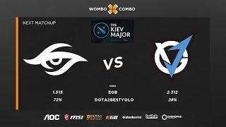 Team Secret vs VG.J Kiev major group stage Game 2