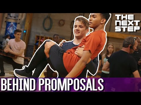 Behind the Scenes: Promposals! - The Next Step 6