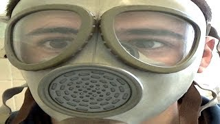 Czech CM4 Gas Mask review and test