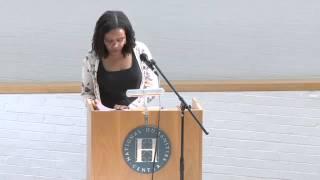 Saidiya Hartman Human Rights and the Humanities   March 20 2014 SD