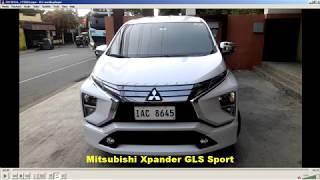 2019 Mitsubishi Xpander GLS Sport Full Specifications