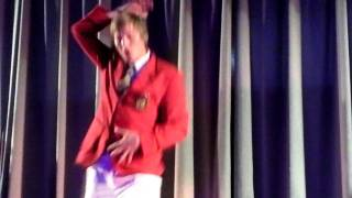 Redcoat Gary dancing to Chocolatte Sept 2011 Butlins Bognor Regis