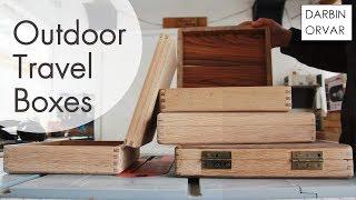 Making Outdoor Travel Bags/Boxes w/ White Oak