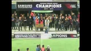 MPL 3 FINAL 2nd LEG: Chanmari FC 3 - 2 Aizawl FC (Agg: 3-3). AIZAWL FC WON ON PENALTIES