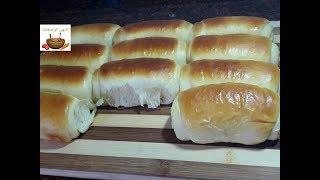 خبز الحليب الرائع هش كالقطن للفطور ومفيد للاطفال