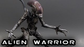 S.H. MonsterArts ALIEN WARRIOR Figure Review