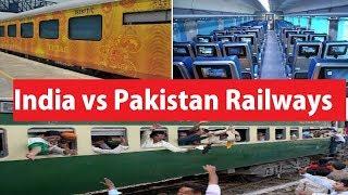 Indian Railways versus Pakistan Railways *Latest: Worlds Apart