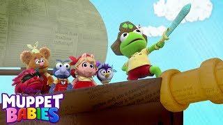 Muppet Pirate Shanty | Music Video | Muppet Babies | Disney Junior