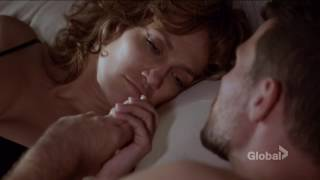 Harlee Santos /James Nava (kiss scene #1 bedroom) Jennifer Lopez  - Shades of Blue (tv series)