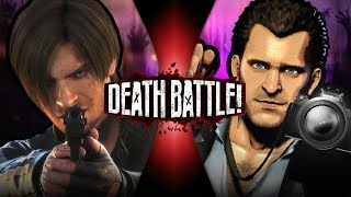 Leon Kennedy VS Frank West (Resident Evil VS Dead Rising) | DEATH BATTLE!