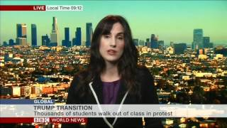 BBC World News interview with Anneke E. Green 11-15-2016