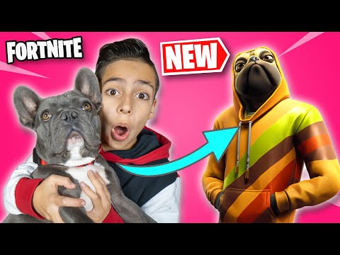 FORTNITE Gave My DOG His OWN SKIN Royalty Gaming