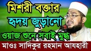 Bangla Waz Sadikur Rahman Al Azhari যার ওয়াজ শুনে পাষান হৃদয় গলে যাই