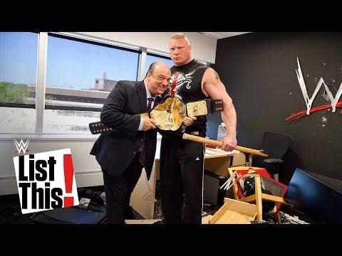 Xxx Mp4 5 Forgotten Brock Lesnar Moments WWE List This 3gp Sex