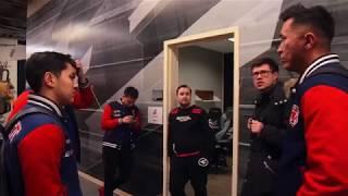 Закулисье матча Gambit vs QB Fire feat. FaZe GuardiaN