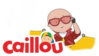 Caillou - Caillou Plays the Drums  (S04E07) | Cartoon for Kids